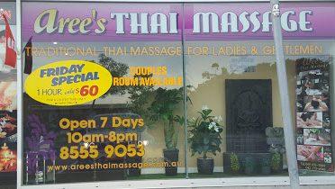 Aree's Thai Massage – Mentone